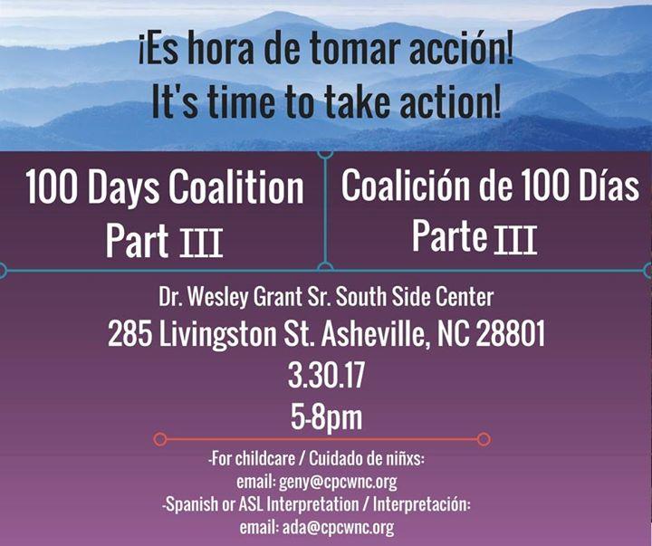100 days coalition