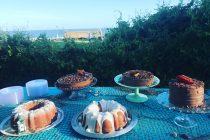 Cake Buffet for Mumbi  and Bucky by Anna Cox and Jodi Rhoden, St. Simons Island, GA