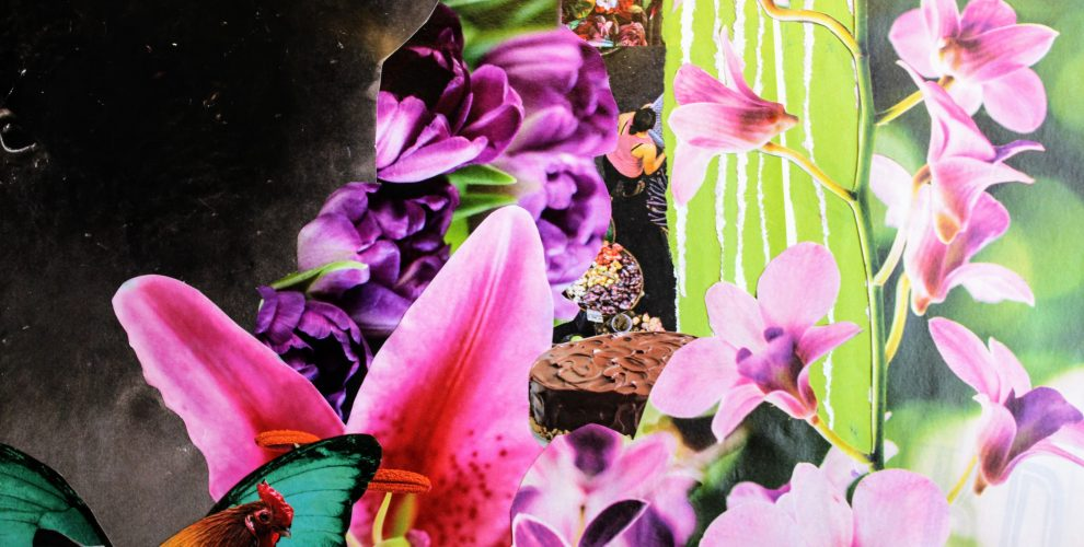 Analog collage by Jodi Rhoden